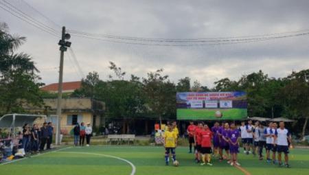 SOECO tổ chức giải bóng đá mừng Xuân 2020