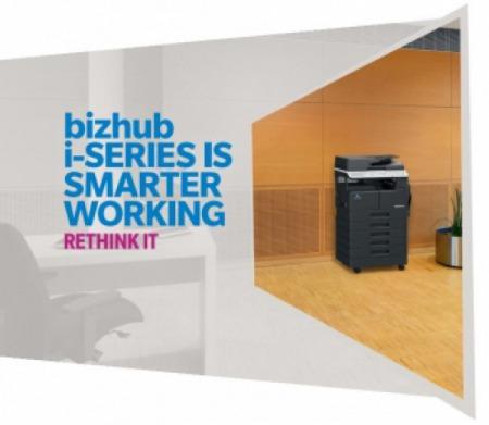 KONICA MINOLTA ra mắt dòng sản phẩm Bizhub 225i I Series mới