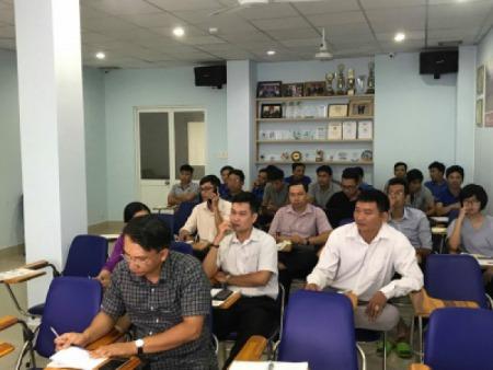 Sao Nam An phối hợp cùng Konica Minolta Việt Nam tổ chức buổi training về dòng máy in siêu tốc Riso mới.